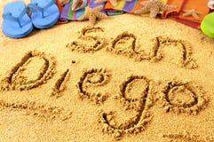 San Diego beach Royalty Free Stock Photo