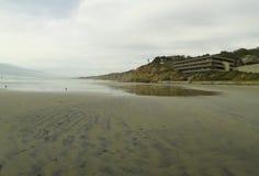 San Diego beach stretch Stock Photography