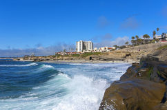 San Diego Beach View Royalty Free Stock Photos