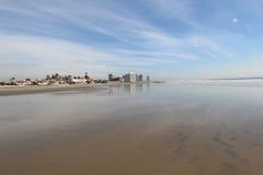 San diego beach. Wide angle shot of a san diego beach Royalty Free Stock Photo