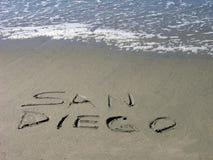 San Diego begrüßt Sie stockbilder