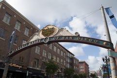 San Diego Benzynowej lampy okręg Zdjęcia Stock