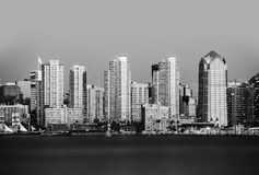 San Diego in Black and White Stock Photos