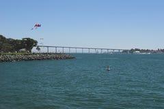 San Diego - brug Stock Afbeelding