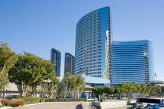 San Diego buildings Royalty Free Stock Photos