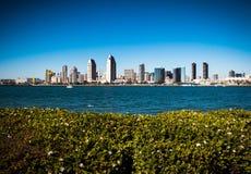 San Diego Buildings. View of San Diego from Coronado royalty free stock photo