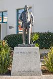 Samuel T. Black Monument on the Campus of San Diego State Univer. SAN DIEGO, CA/USA - JANUARY 13, 2018: Samuel T. Black statue on the campus of San Diego State Royalty Free Stock Image