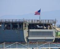 SAN DIEGO, CA - USS Comstock LSD-45 Fotos de archivo