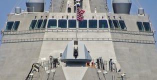 SAN DIEGO, CA - USS Gabrielle Giffords (LCS-10) Fotografía de archivo libre de regalías
