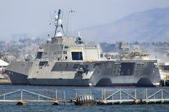 SAN DIEGO, CA - USS Indendence LCS-2 Fotografía de archivo libre de regalías