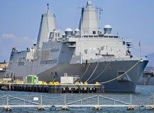 SAN DIEGO CA, USS, - John P Murtha LPD-26 Zdjęcie Royalty Free