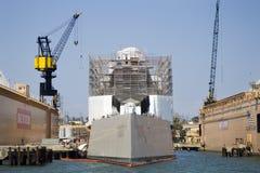 SAN DIEGO, CA - USS Zumwalt DDG-1000 Imágenes de archivo libres de regalías