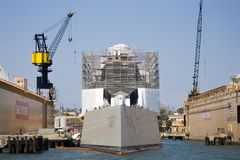 SAN DIEGO CA, USS, - Zumwalt DDG-1000 Obrazy Royalty Free
