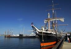 SAN DIEGO, Califórnia, EUA - 13 de março de 2016: San Diego Maritime Museum no porto de San Diego, EUA Foto de Stock