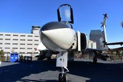 San Diego, Califórnia - EUA - dezembro 04,2016 - McDonnell Douglas Aircraft Midway Museum Fotografia de Stock