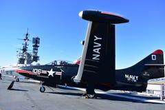 San Diego, Californië - de V.S. - 04,2016 Dec - Marine VF 781 - het Centrale Museum van USS stock foto's