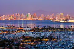 San Diego California fotografie stock