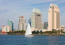 San Diego California fotografie stock libere da diritti