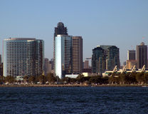 San Diego, California. Downtown San Diego city view Stock Images