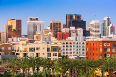 San Diego California Cityscape Royalty Free Stock Photos