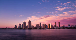 San Diego California Skyline royalty free stock photos