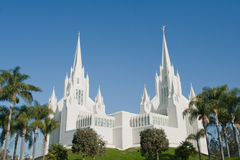 San Diego California Temple Stock Photos