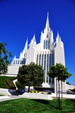 The San Diego California Temple Royalty Free Stock Photo