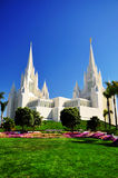 The San Diego California Temple Royalty Free Stock Image