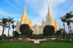 San Diego California Temple Stock Image