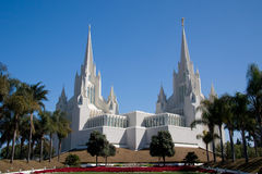 San Diego California Temple Royalty Free Stock Image