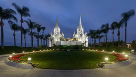 San Diego California Temple Stock Images