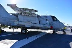 Free San Diego, California - USA - Dec 04,2016 - Navy VS-41 USS Midway Museum Royalty Free Stock Image - 83310006