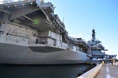San Diego, California - USA - Dec 04,2016 - USS Midway Museum Stock Photography