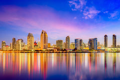 San Diego, California. USA downtown city skyline royalty free stock images