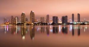 San Diego California West Coast United tillstånd arkivbild