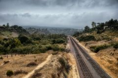 San Diego Canyon stockbilder