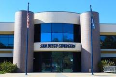 San Diego Chargers acquartiera la costruzione Fotografie Stock Libere da Diritti