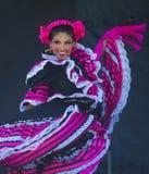 San Diego - Cinco De Mayo. SAN DIEGO - MAY 03 : Dancer Participates at the Cinco De Mayo festival in San Diego CA . on May 3, 2014. Cinco De Mayo Celebrates Stock Photo