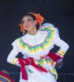 San Diego - Cinco De Mayo. SAN DIEGO - MAY 03 : Dancer Participates at the Cinco De Mayo festival in San Diego CA . on May 3, 2014. Cinco De Mayo Celebrates Stock Photography