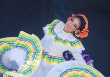San Diego - Cinco De Mayo. SAN DIEGO - MAY 03 : Dancer Participates at the Cinco De Mayo festival in San Diego CA . on May 3, 2014. Cinco De Mayo Celebrates