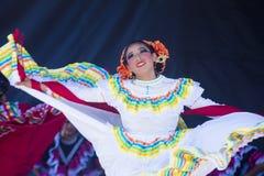 San Diego - Cinco De Mayo. SAN DIEGO - MAY 03 : Dancer Participates at the Cinco De Mayo festival in San Diego CA . on May 3, 2014. Cinco De Mayo Celebrates Royalty Free Stock Photo