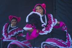 San Diego - Cinco De Mayo. SAN DIEGO - MAY 03 : Dancers Participates at the Cinco De Mayo festival in San Diego CA . on May 3, 2014. Cinco De Mayo Celebrates Royalty Free Stock Photography