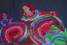San Diego - Cinco De Mayo. SAN DIEGO - MAY 03 : Dancers Participates at the Cinco De Mayo festival in San Diego CA . on May 3, 2014. Cinco De Mayo Celebrates Royalty Free Stock Images