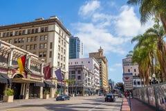 San Diego city CA stock image