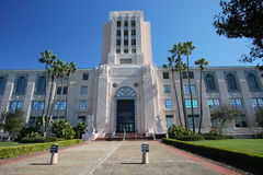 San Diego City and County Administration Building. Art deco designed, historic (1938) San Diego City and County Administration Building on Pacific Highway in stock photos