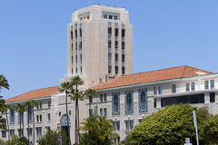 San Diego City and County Center. The original San Diego City and County Administrative Center was built in 1936 and is located along the waterfront in San Diego Royalty Free Stock Images