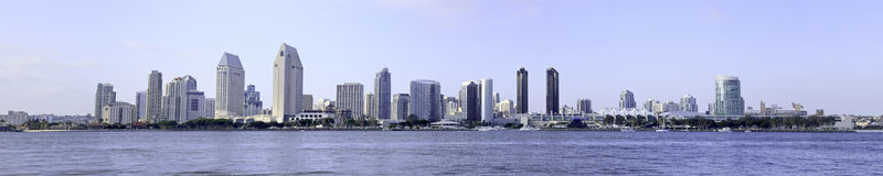 San Diego City Skyline royalty free stock photos
