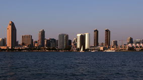 San Diego City Skyline filme