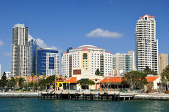 San Diego city. Royalty Free Stock Photos