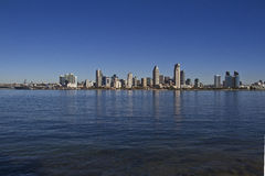 San Diego. A cityscape of San Diego royalty free stock images